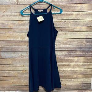 Women's Olivia Rae navy blue dress